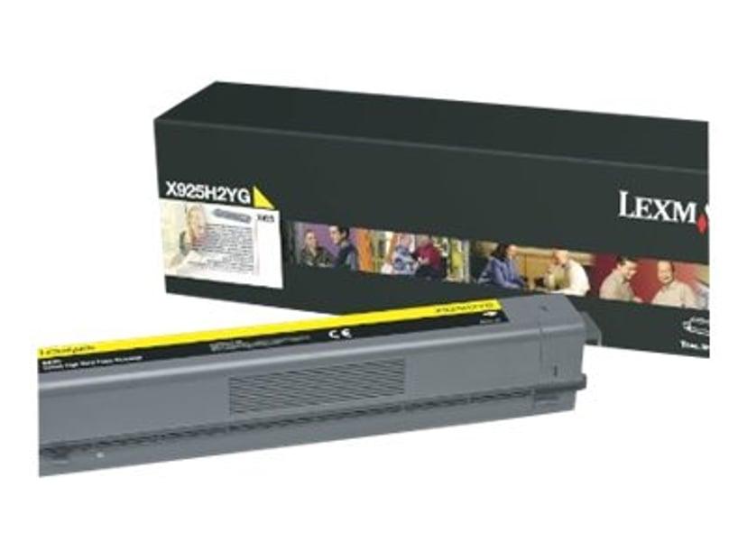 Lexmark Toner Gul 7,5k - X925
