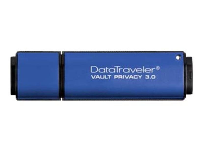 Kingston DataTraveler Vault Privacy 3.0 16GB USB 3.0 AES 256 bittiä