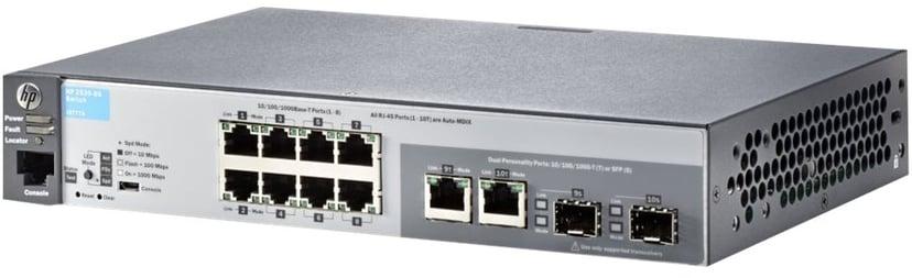 Aruba 2530 8xGbit, SFP Web-mgd Switch
