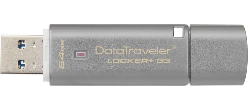 Kingston DataTraveler Locker+ G3 64GB USB 3.0
