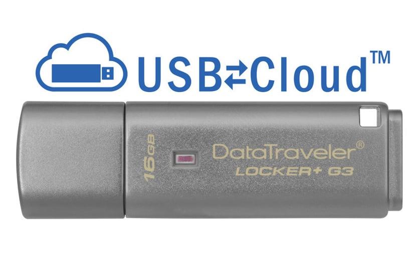 Kingston Datatraveler Locker+ G3 16GB USB 3.0