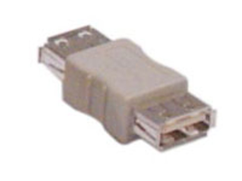 Deltaco USB Sukupuolenvaihtaja 4 nastan USB- A Naaras 4 nastan USB- A Naaras