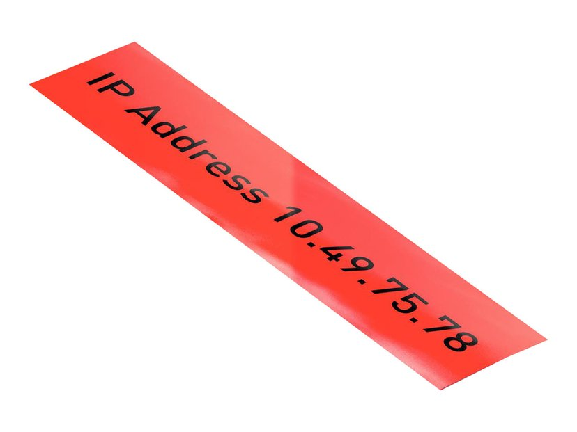 Leitz Tape 12mm X 10m PP Röd - ICON
