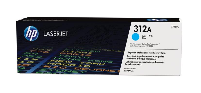 HP Toner Cyan 312A 2.7K - CF381A