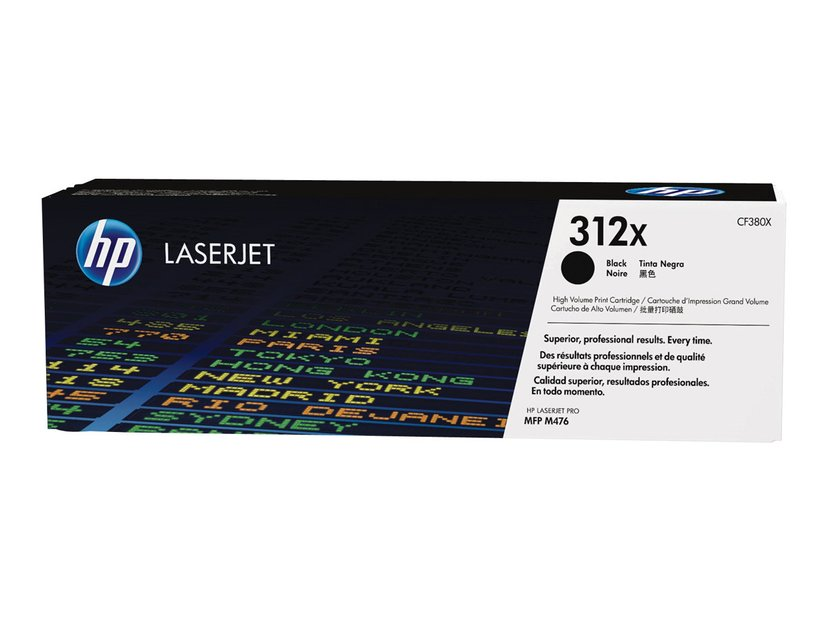 HP Toner Zwart 312X 4.4K - CF380X