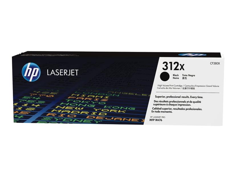 HP Toner Svart 312X 4.4K - CF380X