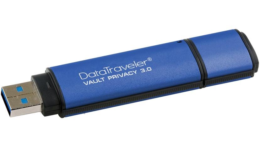 Kingston Datatraveler Vault Privacy 3.0 64GB USB 3.0 256-bit AES