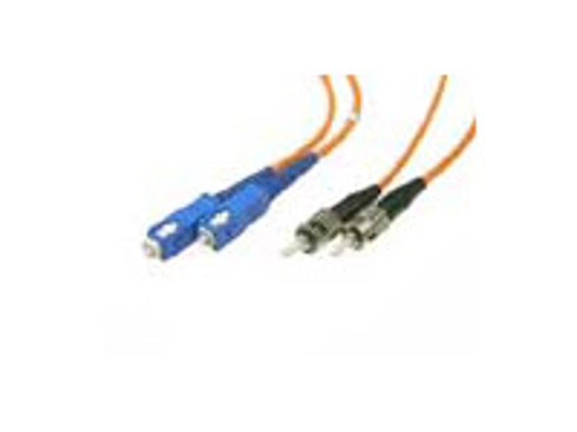 Deltaco Optisk fiberkabel ST/UPC SC/UPC OM1 10m
