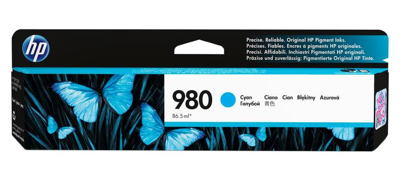 HP Bläck Cyan 980, 6,6K - OfficeJet X555/X585