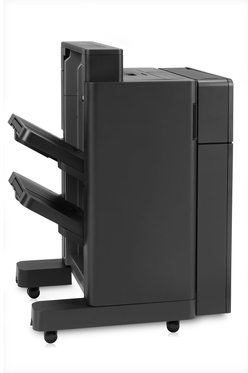 HP Stapler/Stacker with 2/4 hole punch
