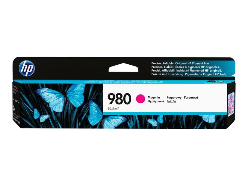 HP Blekk Magenta 980, 6,6K - OfficeJet X555/X585