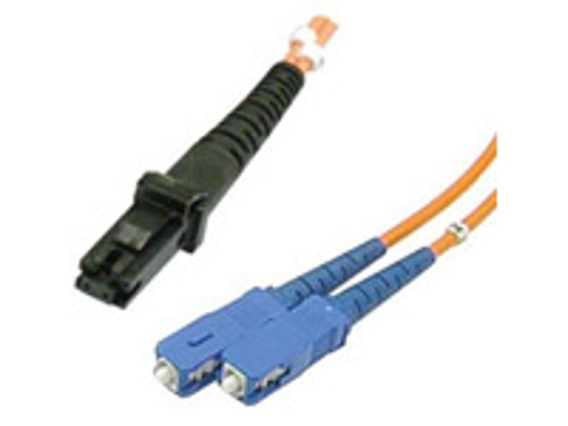 Deltaco Optisk fiberkabel MT-RJ SC/PC OM1 1m