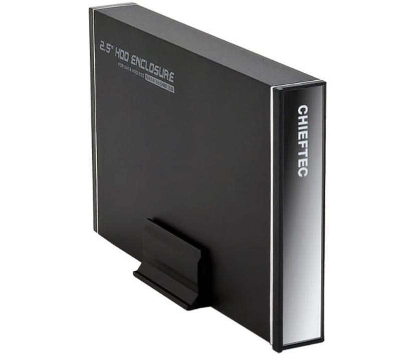 """Chieftec CEB-7025S 2.5"""" USB 3.0 Svart"""