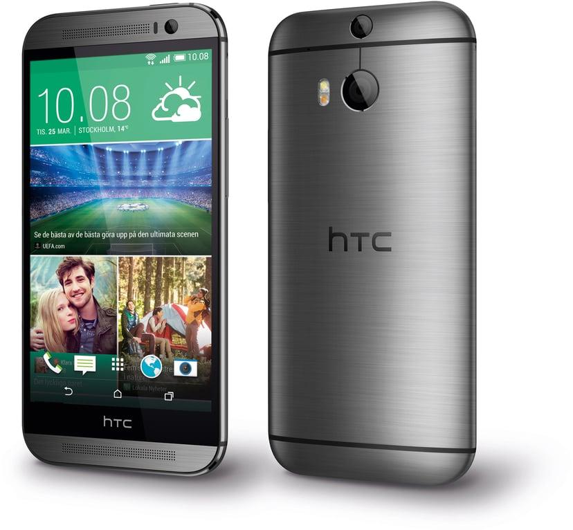 HTC One (M8) Dual-SIM 16GB Dual-SIM Grå kanonmetall