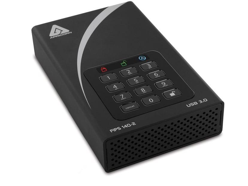 Apricorn Aegis Padlock DT ADT-3PL256F-6000 6TB Svart