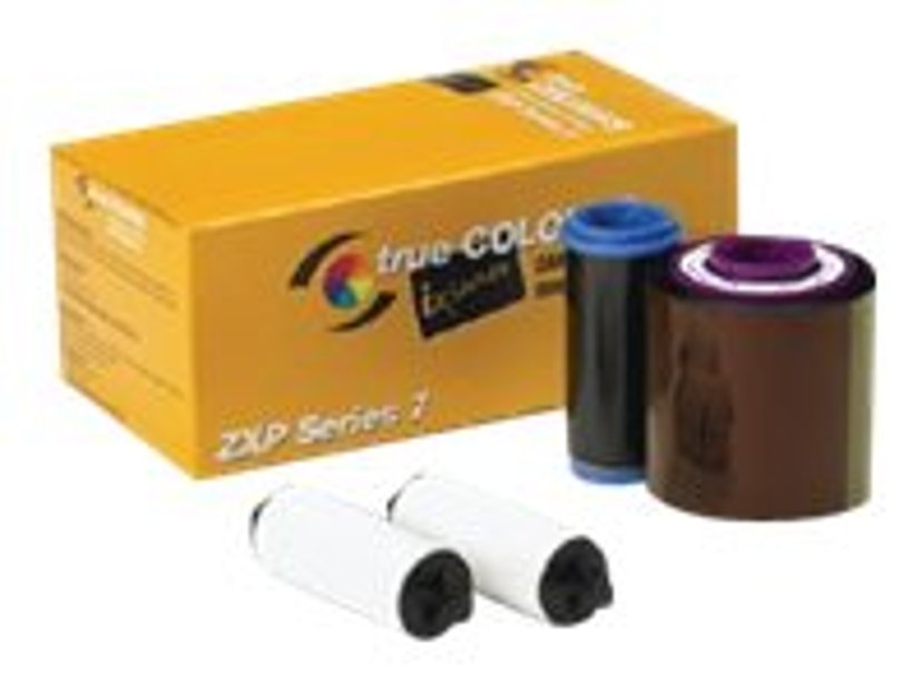 Zebra Färgband Color YMCKOK 750 Utskrifter - ZXP Series 7