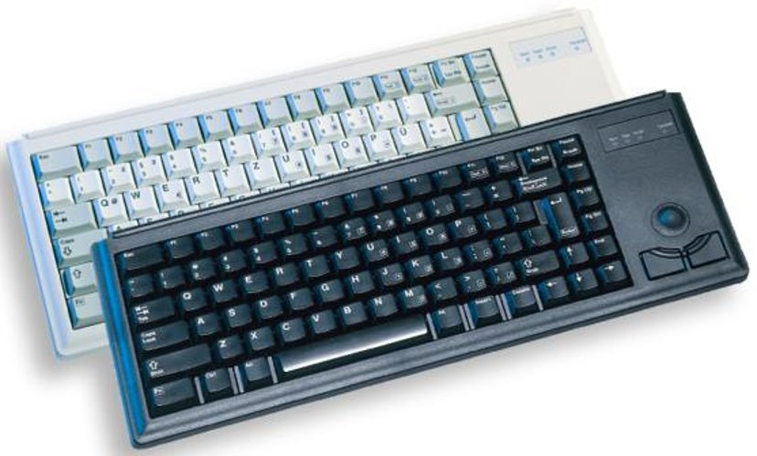 Cherry Slim Line G84-4420 - tastatur - Engelsk - USA