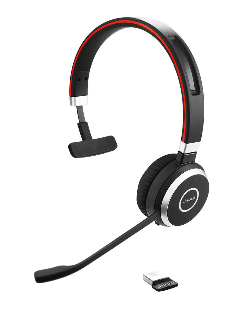 Jabra Evolve 65 MS Mono Headset Musta
