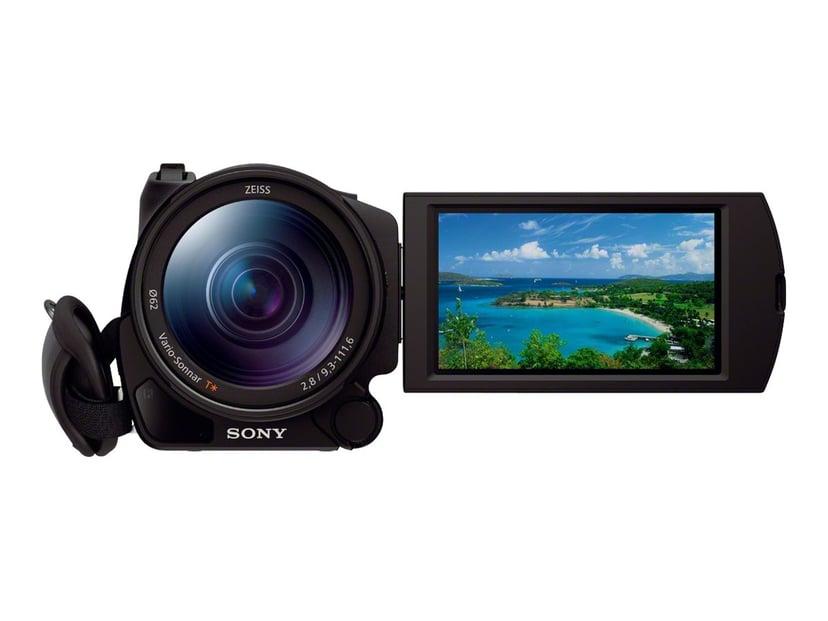 Sony Handycam FDR-AX100 Svart