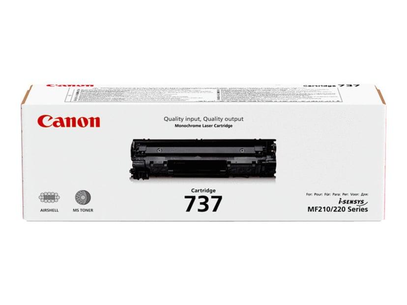 Canon Toner Svart 737 2,4k