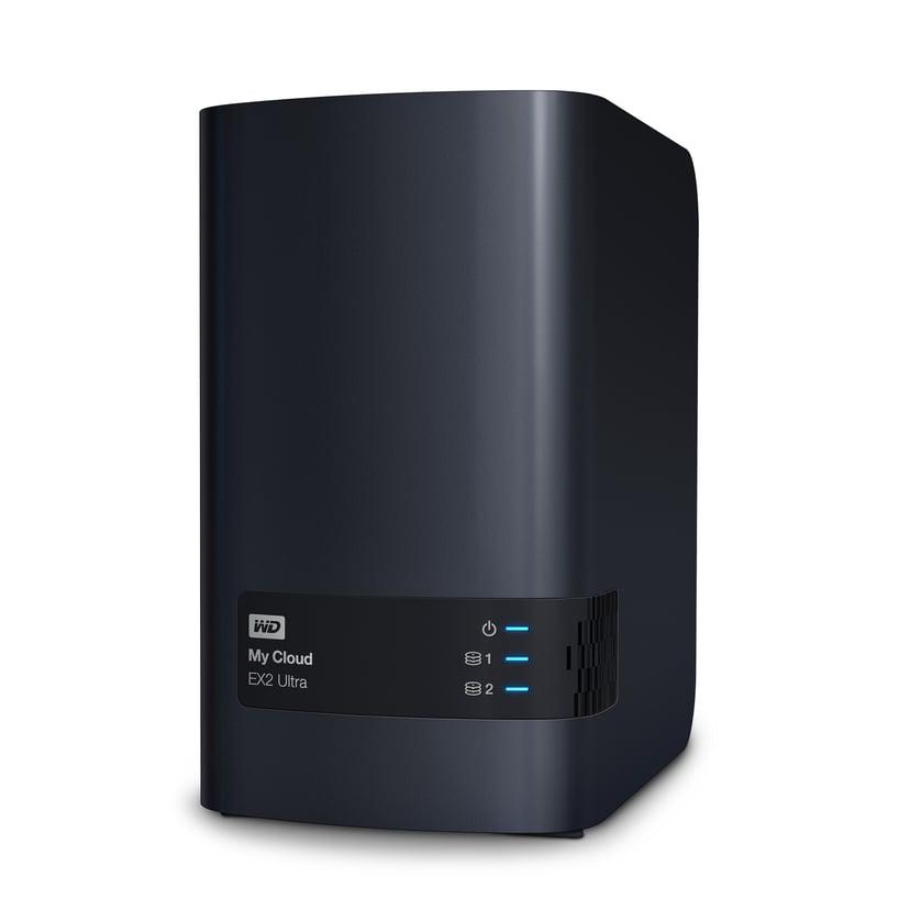 WD My Cloud EX2 Ultra 0TB Personlig molnlagringsenhet