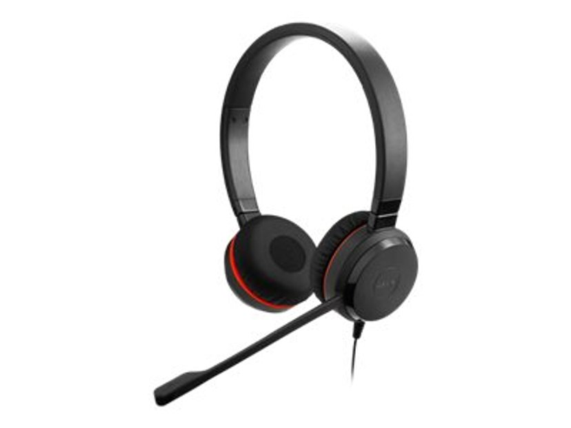 Jabra Evolve 30 II MS stereo 3.5 only Svart