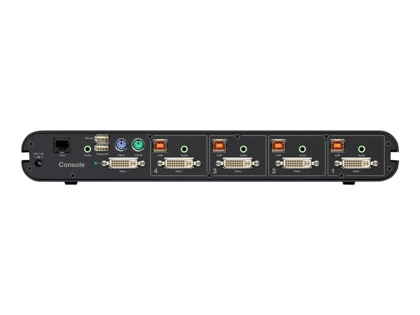 Linksys Advanced Secure DVI-I KVM Switch