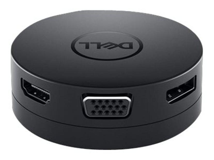 Dell Mobile Adapter DA300 USB-C Mini-dockningsenhet