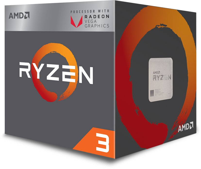 AMD Ryzen 3 2200G 3.5GHz Socket AM4 Prosessor