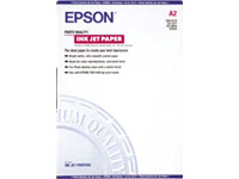 Epson Papper Photo Quality A2 30-Ark 102g