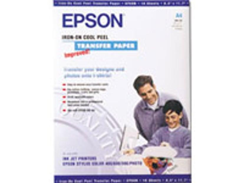 Epson Papir Iron-On T-Shirt TRANSFER MEDIA 10-Ark 124g
