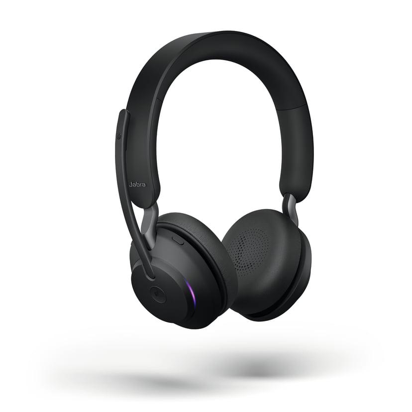 Jabra Evolve2 65 MS USB-A Headset (incl. Stand) Musta