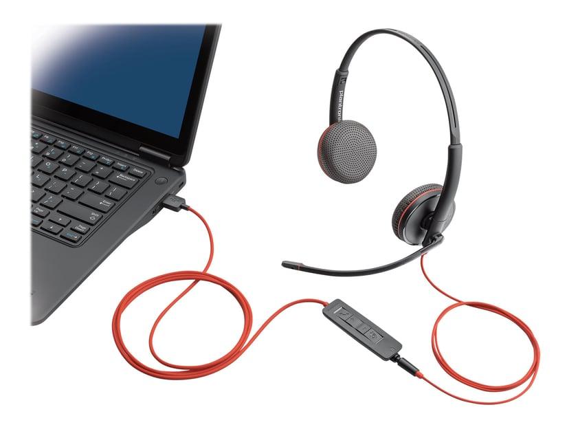Poly Blackwire C3225 USB Musta