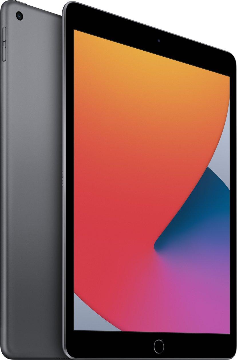 """Apple iPad 8th gen (2020) Wi-Fi 10.2"""" A12 Bionic 128GB Romgrå"""