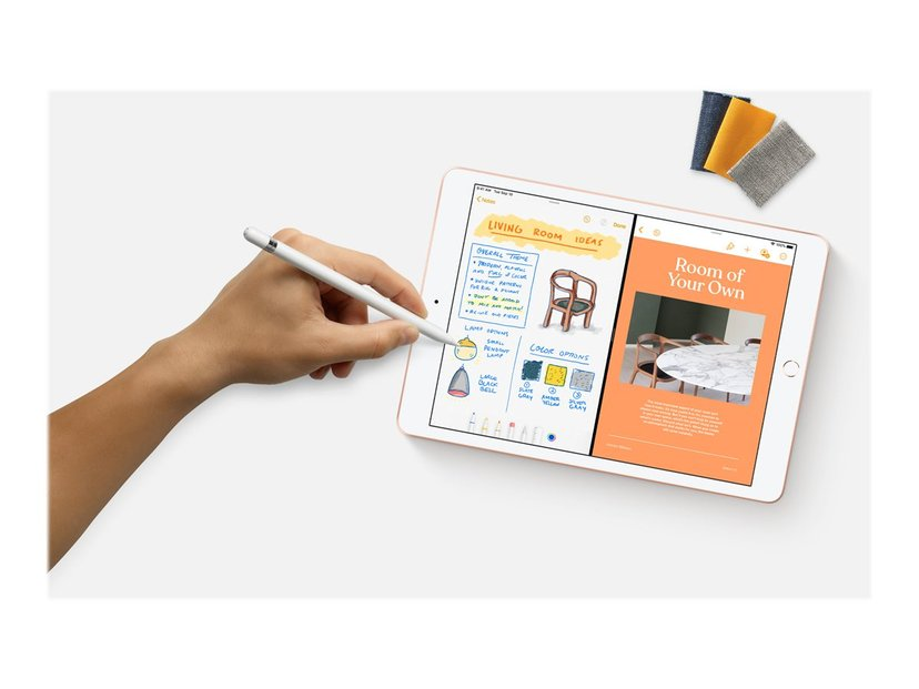 "Apple iPad 8th gen (2020) Wi-Fi + Cellular 10.2"" A12 Bionic 128GB Guld"