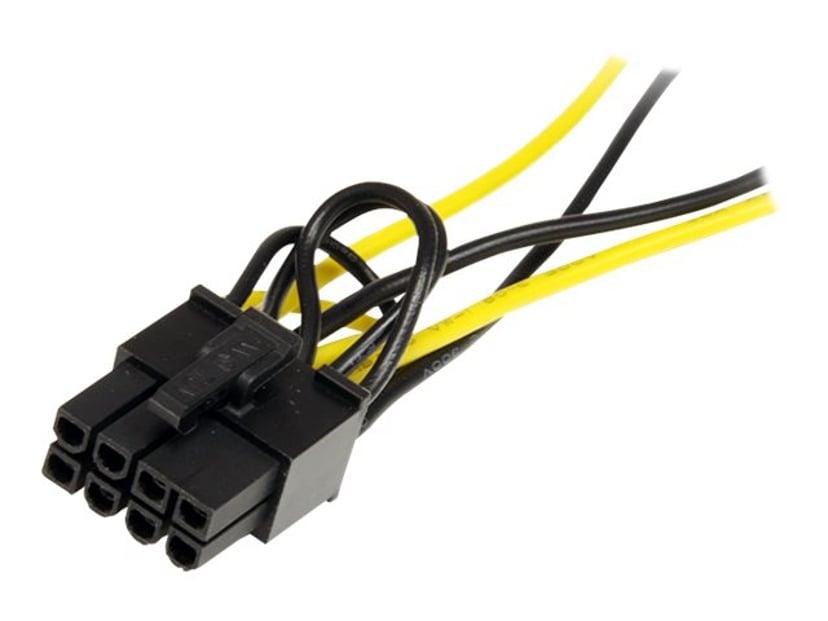 Startech Adapter 15-pins seriell ATA-strøm Hann 8-pins PCI Express-strøm Hann