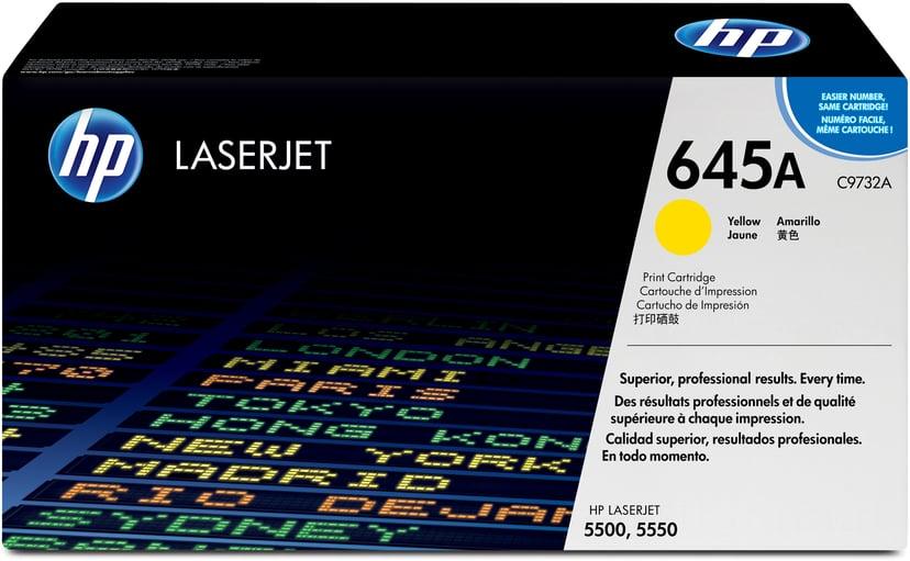 HP Värikasetti Keltainen 12K - C9732A