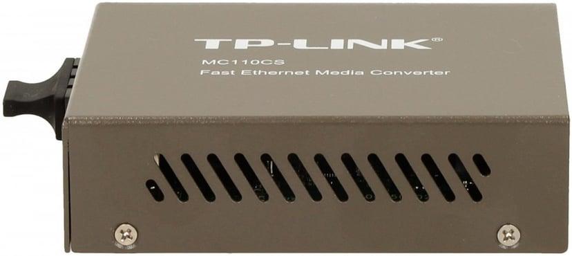 TP-Link MC110CS Fibermedieomformer RJ-45 SC-enkeltmodus