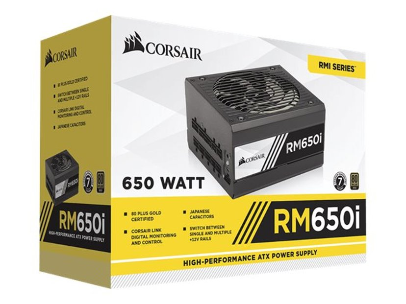 Corsair RMi Series RM650i 650W 80 PLUS Gold