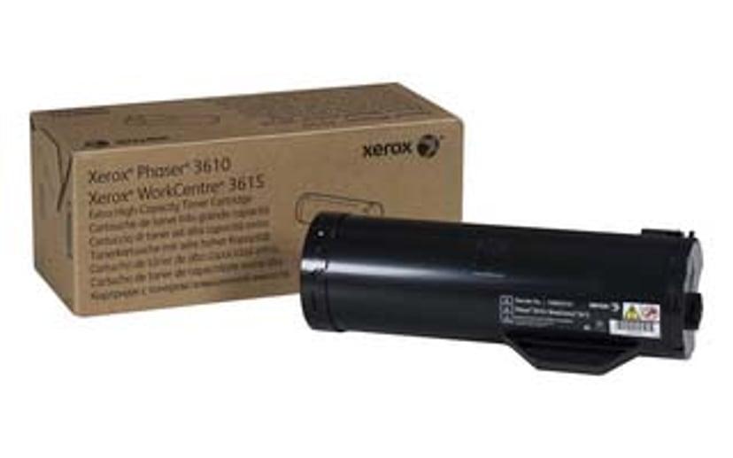 Xerox Toner Svart 25.3k - Phaser 3610/WC 3615