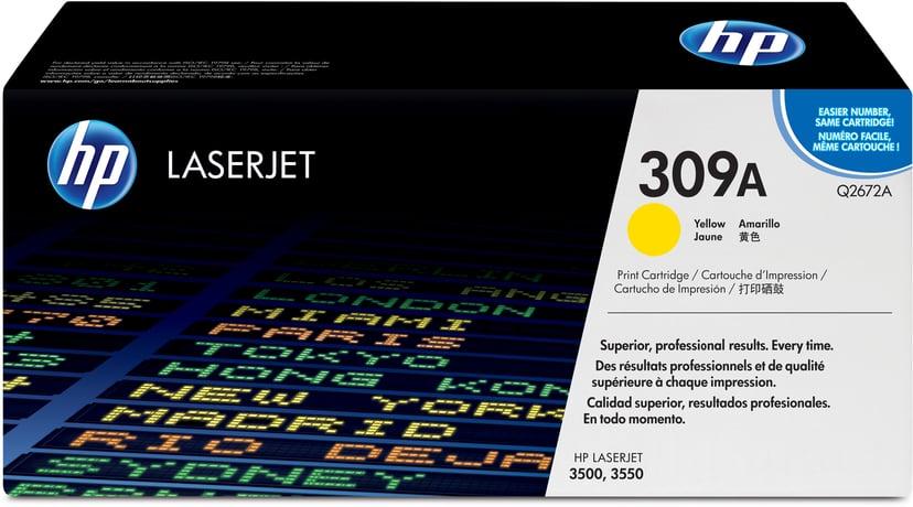 HP Värikasetti Keltainen - Q2672A