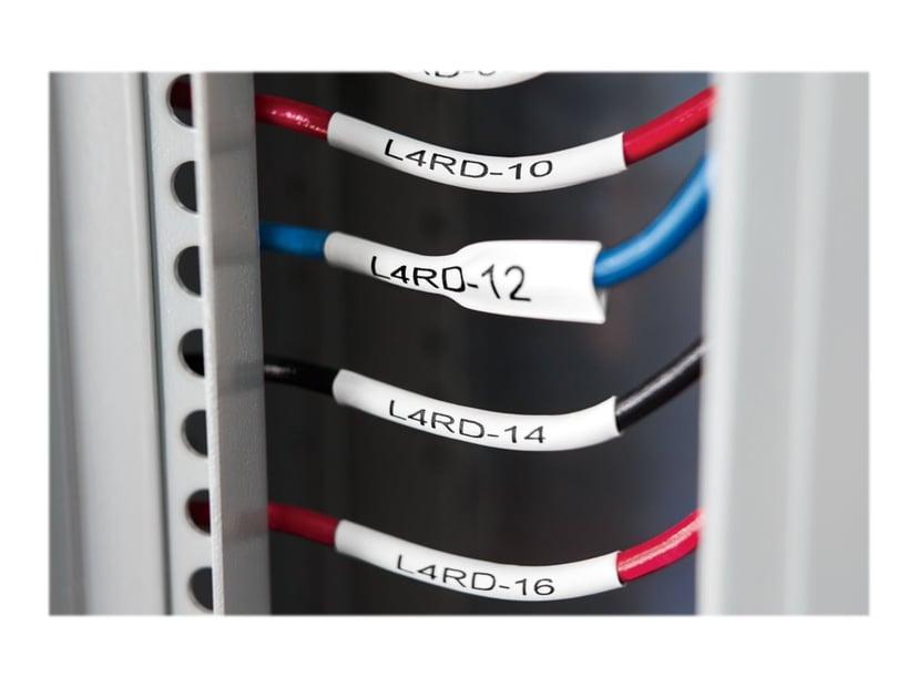 Dymo Tape Krympslang 54mm Svart/Hvit - XTL