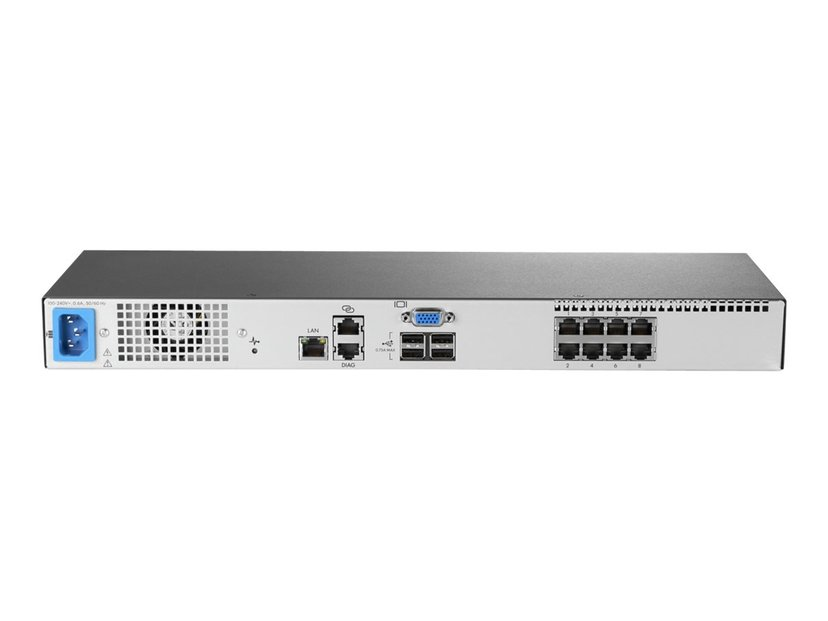 HPE KVM Console G3 Switch 0x1x8