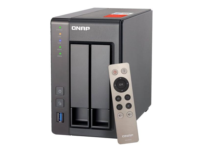 QNAP TS-251+ 2GB 0TB NAS-server