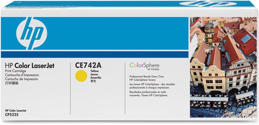 HP Toner Geel 7.3K - CE742A