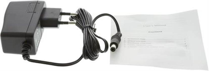 Delta SDI-splitter 1:2 3G/HD-SDI 1080P 12 BIT BNC metal