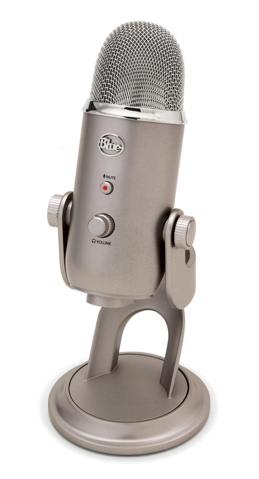 Blue Microphones Yeti USB Platinum Hopea