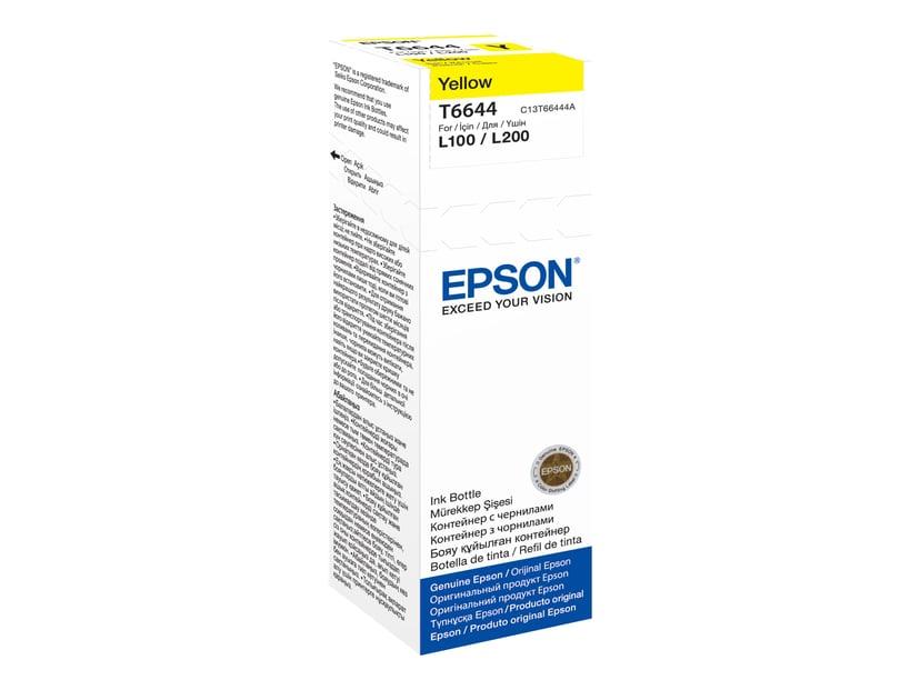 Epson Bläck Gul T6644 70ml - ET-2550/ET-4550