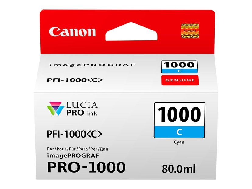 Canon Bläck Cyan PFI-1000 C - IPF-1000