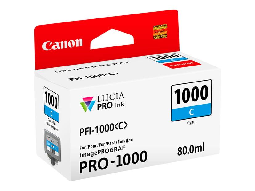 Canon Blekk Cyan PFI-1000 C - IPF-1000